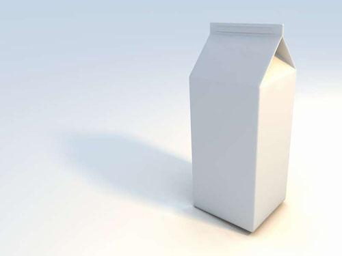 Молочные пакеты из картона