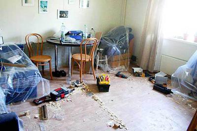 Как убрать квартиру после ремонта?