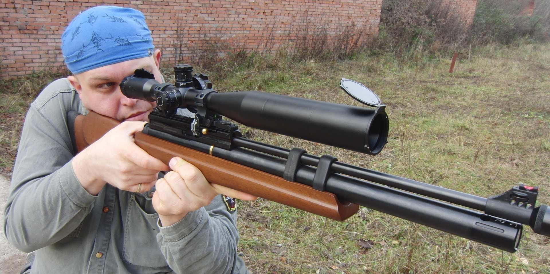 Современная пневматическая турецкая винтовка Hatsan AT44-10