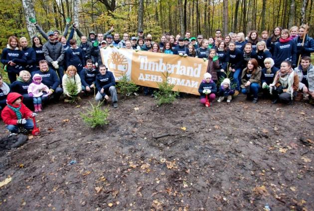 Экологическая миссия Timberland