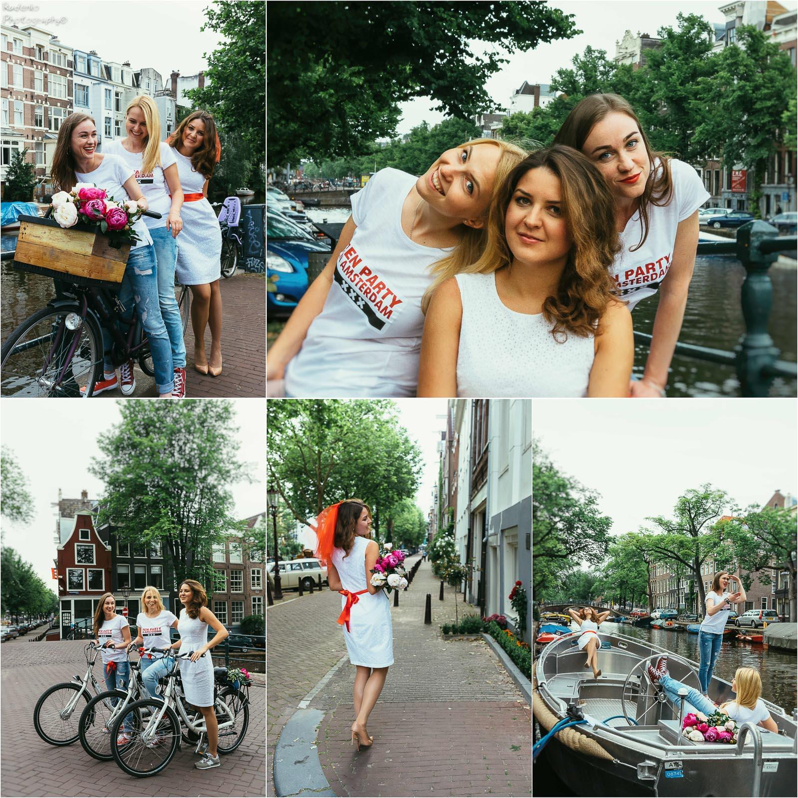 Заказ стильной фотосессии в чудесном Амстердаме