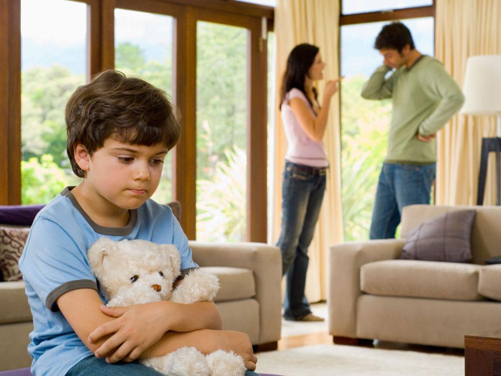 Воспитание детей после развода родителей